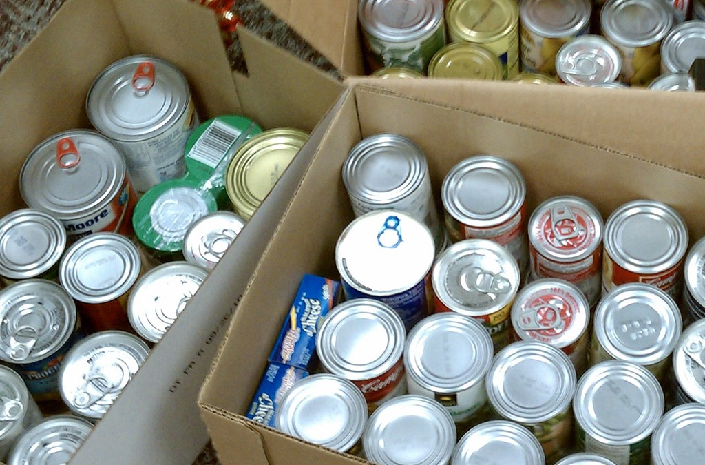 Help at the Food Pantry